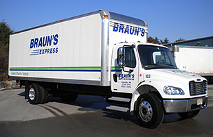 Video thumbnail for Massachusetts Fleet Braun's Express Celebrates 10 Years of Petroleum Reduction Success