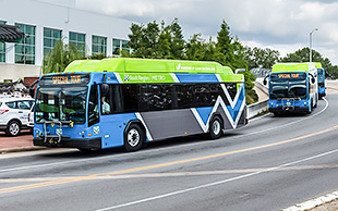 Video thumbnail for Arkansas Launches Natural Gas-Powered Buses and Refueling Station