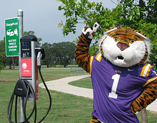 Video thumbnail for Louisiana State University: The State's First Workplace Charging Challenge Partner