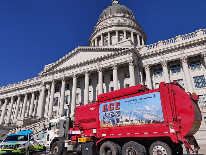 Video thumbnail for Natural Gas Fuels Utah's Disposal Services, Cuts Fuel Costs
