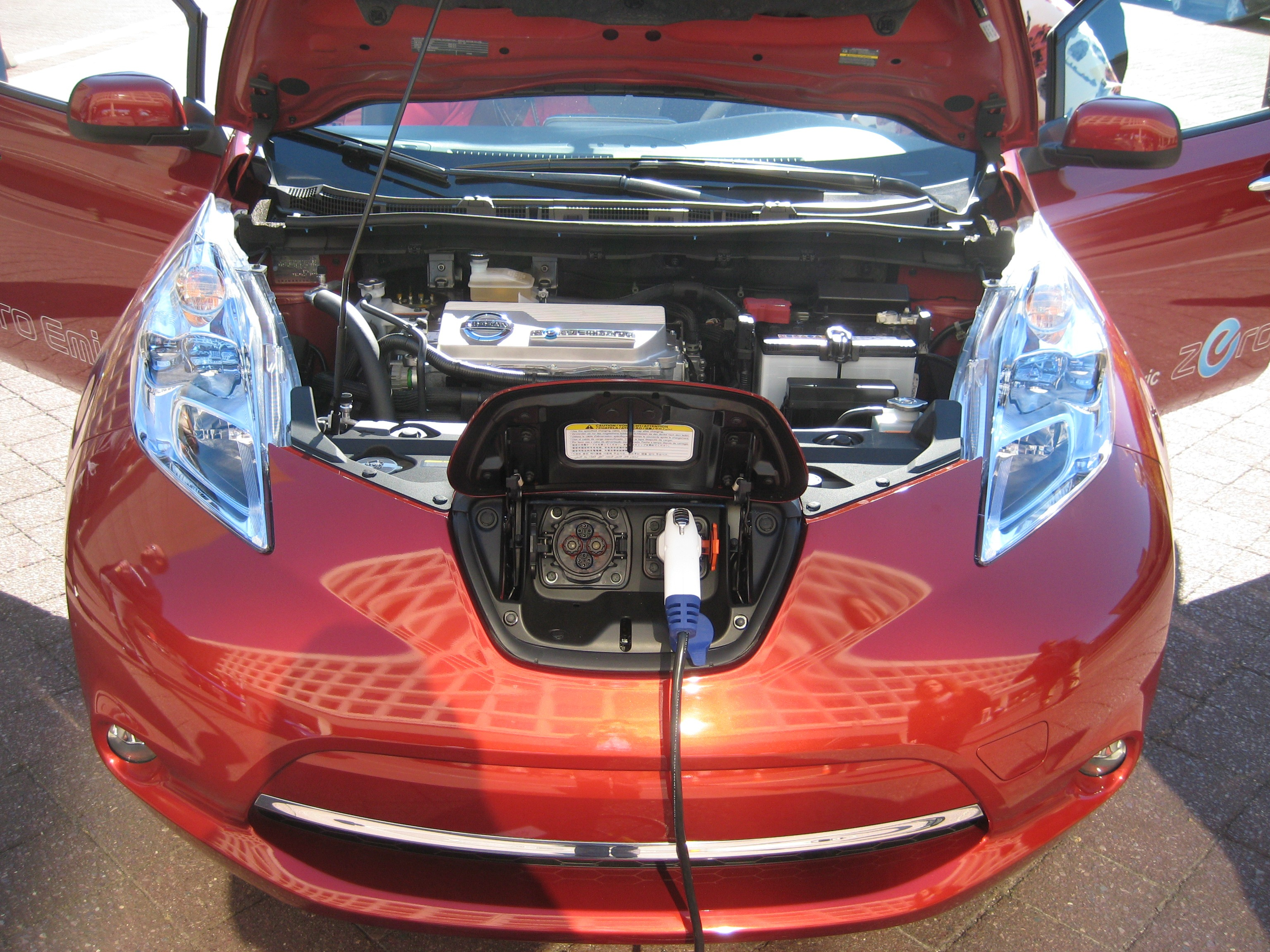 Photo of electric vehicle