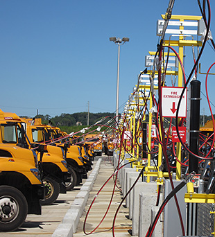 Video thumbnail for CNG Fleets Aid in Superstorm Recovery