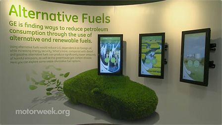 Video thumbnail for GE Showcases Innovation in Alternative Fuel Vehicles
