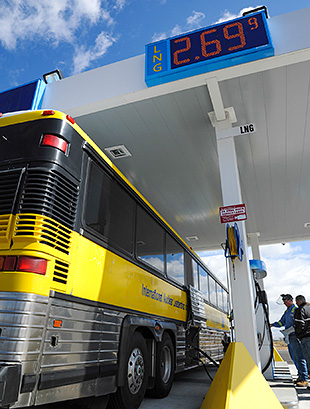 Video thumbnail for Idaho National Laboratory Dual-Fuel Buses Reduce Operating Costs and Emissions