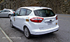Photo of an electric van