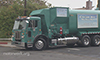 Photo of a large refuse truck