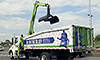 Photo of a grapple truck